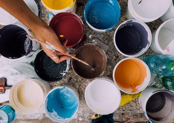 Faire de la peinture